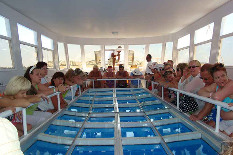 Sharm El Sheikh Glass Boat Tours