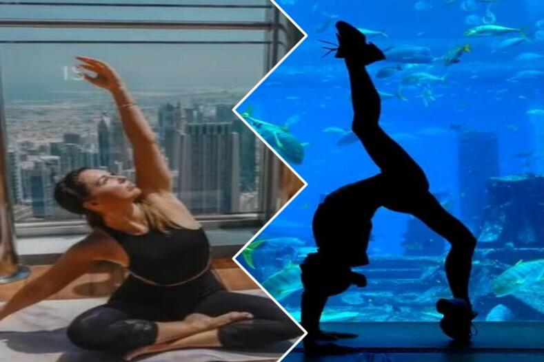 On top of the world or underwater: incredible places to do yoga in Dubai