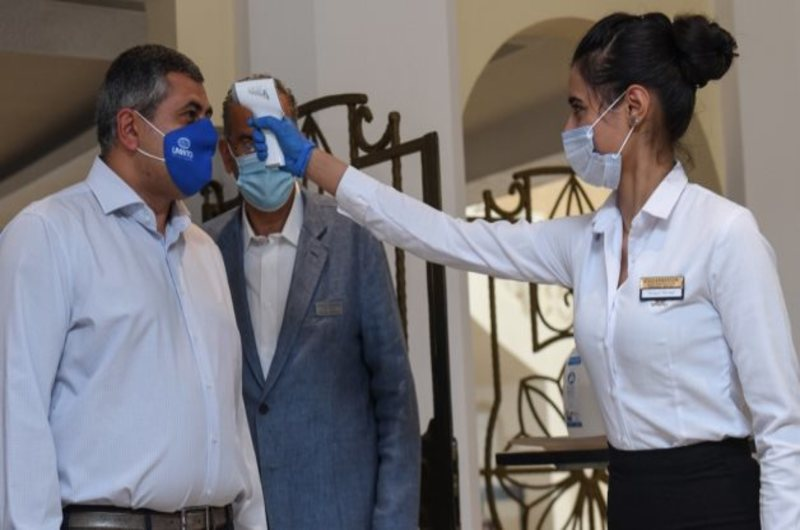 General-secretary of the World Tourism Organization visit Hurghada