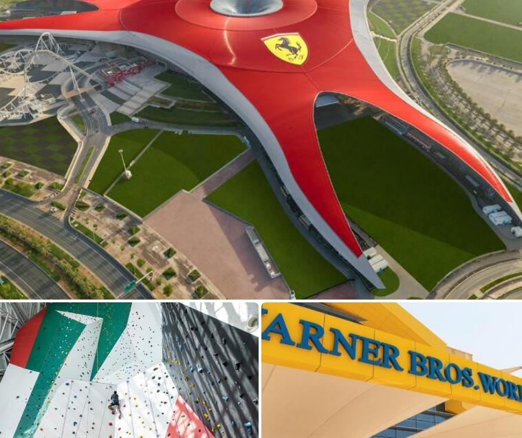 Ferrari World, Warner Bros. World and Clymb to reopen next week