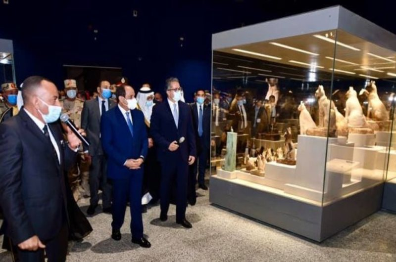 The speech of the Minister of Tourism and Antiquities, during inauguration of three new museums.