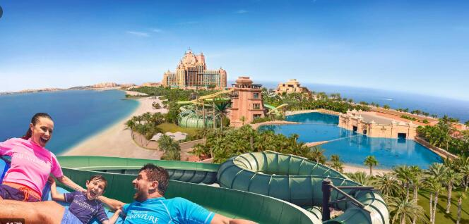 Aquaventure Water Park - Thrills and spills at Atlantis, The Palm