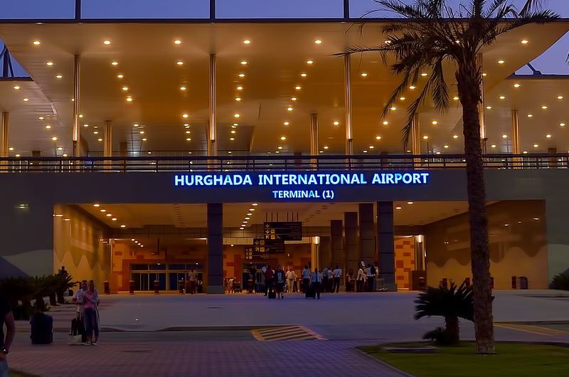 Two planes from Ukraine and Belarus arrived Hurghada airport